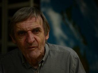 Playwright John Romeril